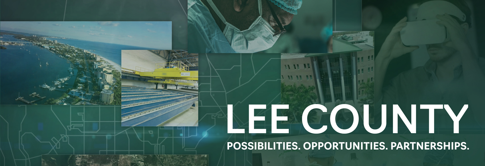 Lee County. Possibilities. Opportunities. Partnerships